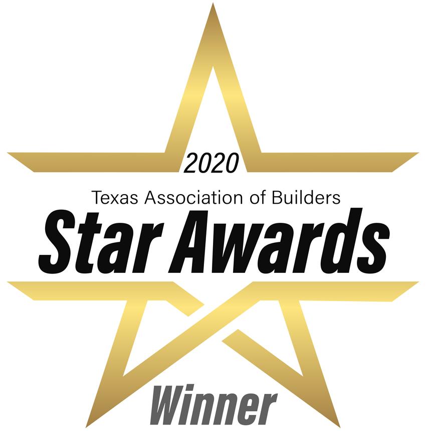 Texas Builders Association Star Awards Winner Logo